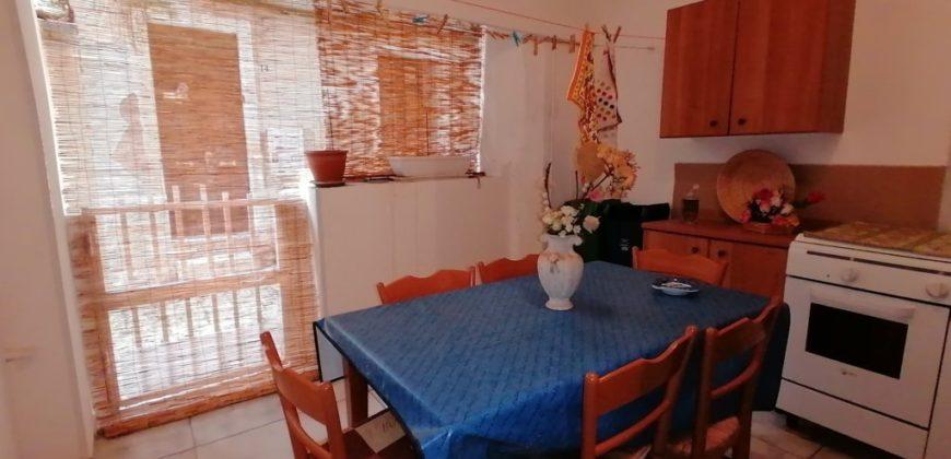 appartamento con veranda e garage