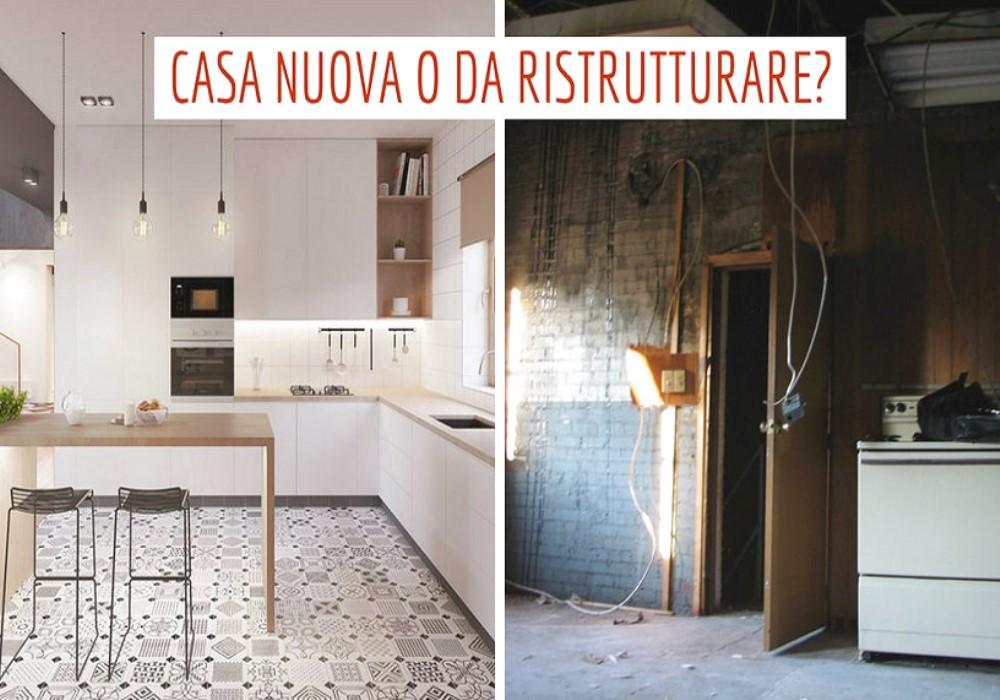 Comprare casa nuova o da ristrutturare? Ecco cosa scelgono gli italiani